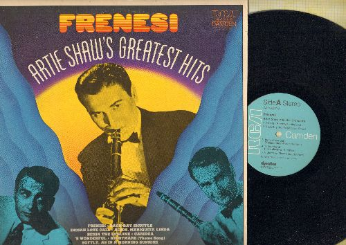Shaw, Artie & His Orchestra - Frenesi - Artie Shaw's Greatest Hits: Indian Love Call, Carioca, 'S Wonderful (Vinyl STEREO LP record) - NM9/EX8 - LP Records