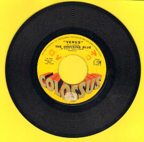 Shocking Blue - Venus/Hot Sand (minor wol) - VG7/ - 45 rpm Records