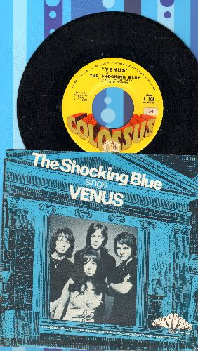 Shocking Blue - Venus/Hot Sand (with picture sleeve) - NM9/EX8 - 45 rpm Records