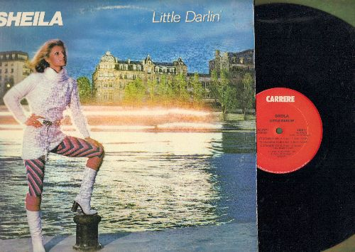 Sheila - Little Darlin': It's Only Makebelieve, Saturday Night, Rubber, Nothing Less Than Love (vinyl STEREO LP record, DJ advance pressing) - NM9/EX8 - LP Records