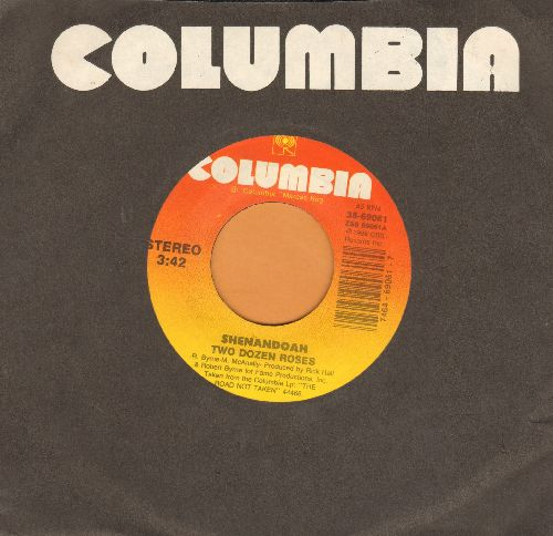 Shenandoah - Two Dozen Roses/Hard Country (with Columbia company sleeve) - NM9/ - 45 rpm Records