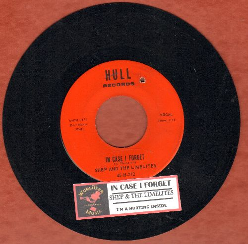Shep & The Limelites - In Case I Forget/I'm A Hurting Inside (with juke box label)(bb) - NM9/ - 45 rpm Records