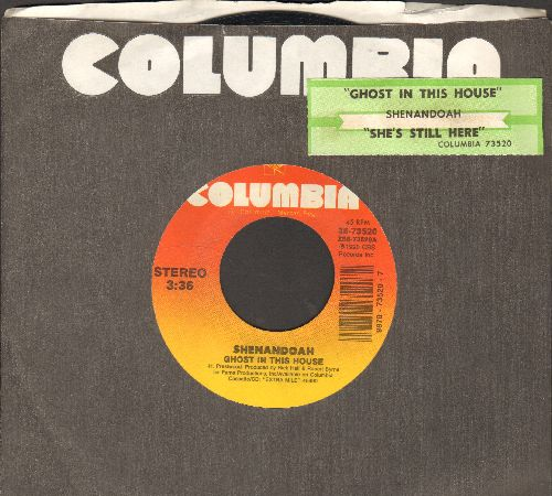 Shenandoah - Ghost In This House/She's Still Here (with Columbia company sleeve and juke box label) - NM9/ - 45 rpm Records