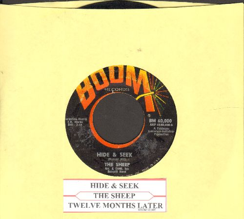 Sheep - Hide & Seek/Twlve Months Later (with juke box label) - VG7/ - 45 rpm Records