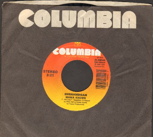 Shenandoah - Mama Knows/The Show Must Go On (with Columbia company sleeve) - NM9/ - 45 rpm Records