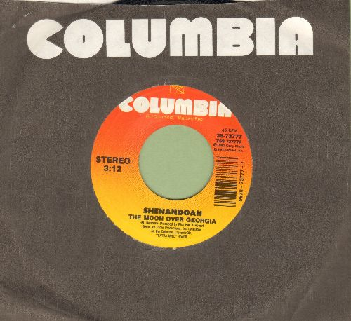 Shenandoah - The Moon Over Georgia/Can't Stop Now (with Columbia company sleeve) - NM9/ - 45 rpm Records