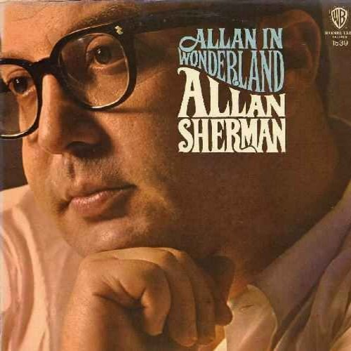 Sherman, Allan - Allan In Wonderland: Skin (Heart), Green Stamps (Green Eyes), You Need An Analyst, The Drop-Out March, I Can't Dance, Little Butterball - NM9/VG7 - LP Records