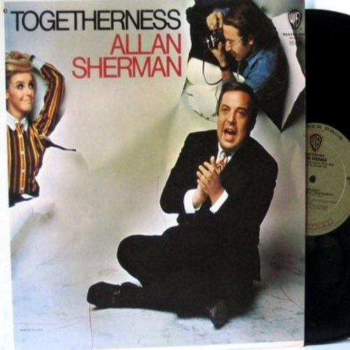 Sherman, Allan - Togetherness: Westchester Hadassah (Winchester Cathedral), Strange Things In My Soup, If I Were A Tishman (If I Were A Rich Man), My Aunt Minnie, Plan Ahead, Signs (Vinyl MONO LP record) - NM9/EX8 - LP Records