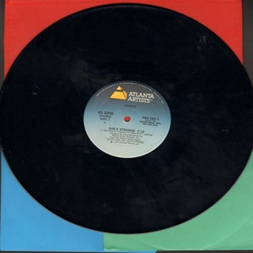 Cameo - She's Strange (7:12 minutes Maxi Single, double-A-sided DJ advance pressing, 12 inch 45rpm) - NM9/ - 45 rpm Records