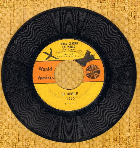 Shevelles - I Could Conquer The World/How Would You Like Me To Love You (wol) - VG7/ - 45 rpm Records