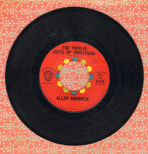 Sherman, Allan - The Twelve Gifts Of Christmas/You Went The Wrong Way, Old King Louis  - EX8/ - 45 rpm Records