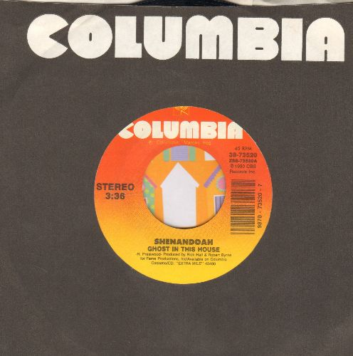 Shenandoah - Ghost In This House/She's Still Here (with Columbia company sleeve) - NM9/ - 45 rpm Records