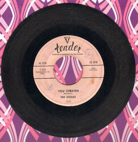 Shields - You Cheated/That's The Way It's Gonna Be  - VG6/ - 45 rpm Records