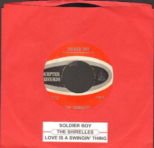 Shirelles - Soldier Boy/Love Is A Swingin' Thing (with juke box label) - EX8/ - 45 rpm Records