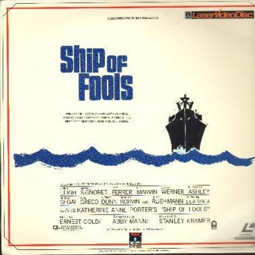 Ship Of Fools - Ship Of Fools - The 1964 Classic with International Star Cast, Vivian Leighs final film appearance! - THIS IS A SET OF 2 LASER DISCS, NOT ANY OTHER KIND OF MEDIA! - NM9/EX8 - Laser Discs