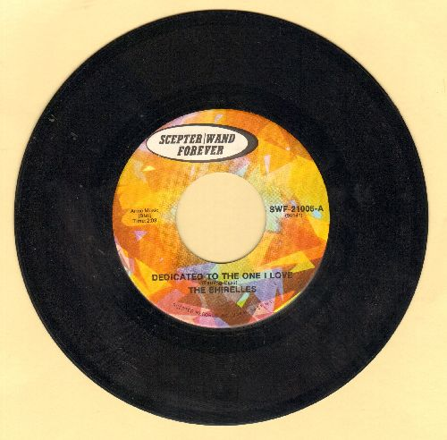 Shirelles - Dedicated To The One I Love/Look Away (double-hit re-issue) - EX8/ - 45 rpm Records