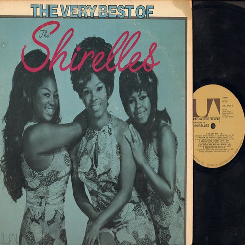 Shirelles - The Very Best Of: Soldier Boy, Foolish Little Girl, Mama Said, Tonight's The Night, Baby It's You, Will You Love Me Tomorrow (Vinyl MONO LP record) - NM9/VG7 - LP Records