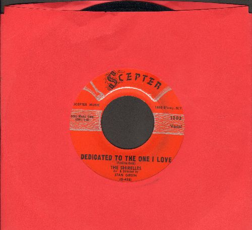 Shirelles - Dedicated To The One I Love/Look A Here Baby (red label, script logo)  - EX8/ - 45 rpm Records