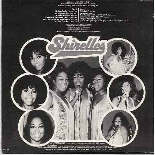 Shirelles - Shirelles: Ain't No Sunshie, Sunday Dreaming, How Can You Mend A Broken Heart, Let's Stay Together, Drowning In The Sea Of Love (1972 first issue) - M10/EX8 - LP Records