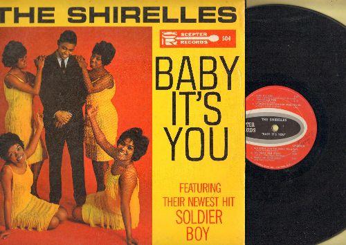 Shirelles - Baby It's You: Soldier Boy, Twisting In The U.S.A., Big John, Twenty One, Irresistable You (vinyl MONO LP record) - VG6/VG7 - LP Records