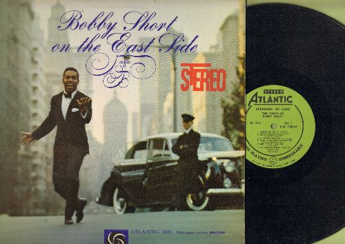 Short, Bobby - Bobby Short On The East Side (Vinyl STEREO LP record, RARE Green Label with PERSONALIZED Autograph on back cover!