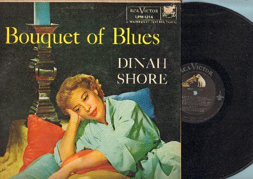Shore, Dinah - Bouquet Of Blues: Blues In The Night, St. Louis Blues, I Got It Bads And That Ain't Good (vinyl MONO LP record) - NM9/VG7 - LP Records