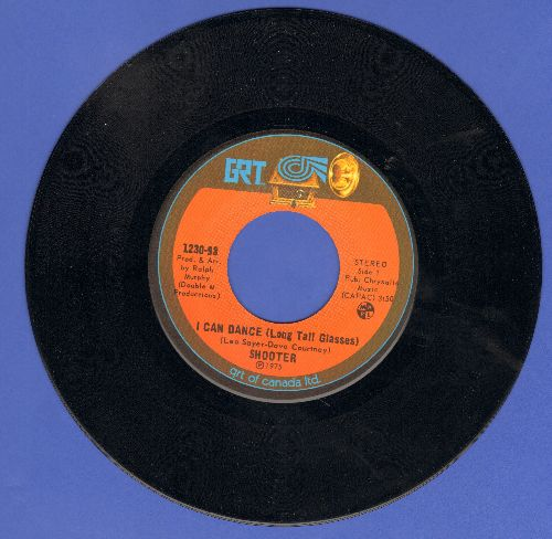 Shooter - I Can Dance (You Know I Can Dance)/Hole In My Soul (Canadian Pressing) - NM9/ - 45 rpm Records