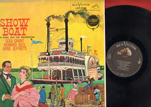 Grant, Gogi, Howard Keel, Ann Jeffreys - Show Boat: Can't Help Lovin' Dat Man, Ol' Man River, Bill, You Are Love (Vinyl MONO LP record) (ssol) - EX8/EX8 - LP Records