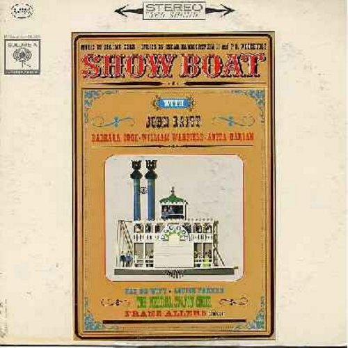 Raitt, John, William Warfeld, Barbara Cook, Anita Darian others - Show Boat - early 1960s Cast Recording of the Legendary Jerome Kern/Oscar Hammerstein II Broadway Hit. Includes songs Ol' Man River and Can't Help Lovin' That Man (Vinyl STEREO LP record) -