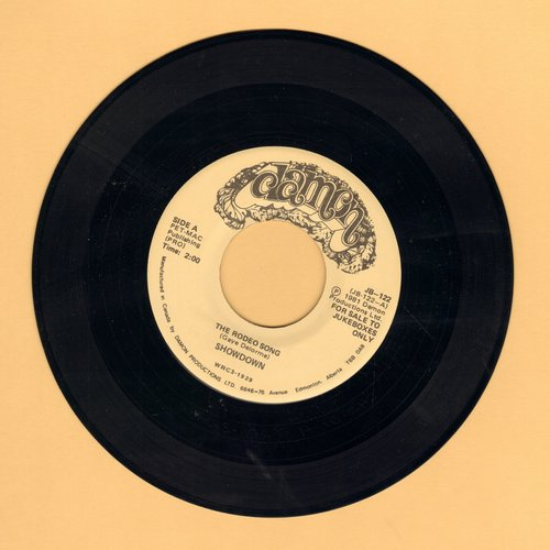 Showdown (Garry Lee) - The Rodeo Song (You Pi*s Me Off!)/Banjo Symphony (MINT condition DJ advance copy) - M10/ - 45 rpm Records