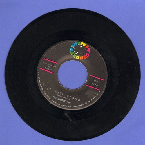 Showmen - It Will Stand/Country Fool  - NM9/ - 45 rpm Records