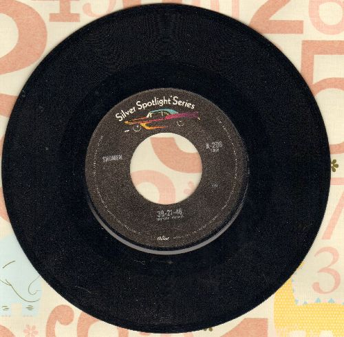 Showmen - 39-21-46/A Quiet Place (by Garnet Mimms on flip-side) (re-issue) - NM9/ - 45 rpm Records