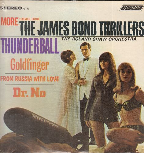 Shaw, Roland Orchestra - More Themes From The James Bond Thrillers Thunderball, Goldfinger, Dr. No, From Russia With Love (Vinyl STEREO LP record, SEALED, never opemed!) - SEALED/SEALED - LP Records