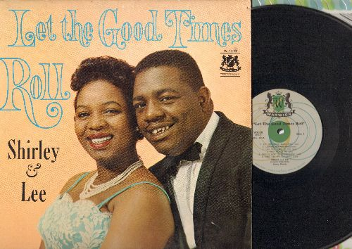 Shirley & Lee - Let The Good Times Roll: Lovers' Mistake, Keep Loving Me, Your Day Is Coming (Vinyl MONO LP record) - VG7/EX8 - LP Records