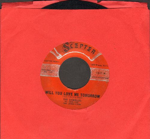 Shirelles - Will You Love Me Tomorrow/Boys (script logo early pressing) - VG7/ - 45 rpm Records