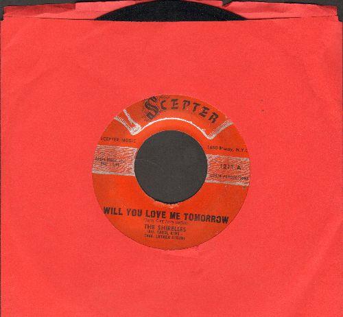 Shirelles - Will You Love Me Tomorrow/Boys (script logo early pressing) - VG7/ - 45 rpm Records