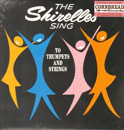 Shirelles - The Shirelles Sing To Trumpets And Strings: Mama Said, Blue Holiday, Please Be My Boyfriend, My Willow Tree, I Saw A Tear (Limited Edition Virgin Vinyl re-issue, E.U. Pressing, SEALED, never opened!) - SEALED/SEALED - LP Records