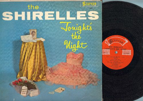 Shirelles - Tonight's The Night: Will You Love Me Tomorrow, Dedicated To The One I Love, Boys, Oh What A Waste Of Love (vinyl MONO LP record) - EX8/VG6 - LP Records