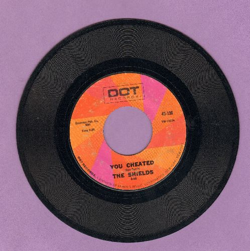 Shields - You Cheated/Nature Boy (double-hit re-issue) - VG7/ - 45 rpm Records