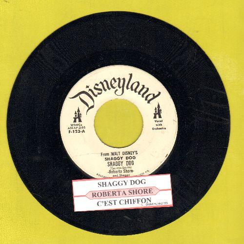 Shore, Roberta - Shaggy Dog/C'est Chiffon (DJ advance pressing) - EX8/ - 45 rpm Records