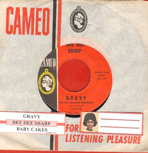 Sharp, Dee Dee - Gravy (For My Mashed Potatoes)/Baby Cakes (with company sleeve juke box label) - NM9/ - 45 rpm Records