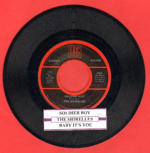 Shirelles - Baby It's You/Soldier Boy (double-hit re-issue with juke box label) - EX8/ - 45 rpm Records