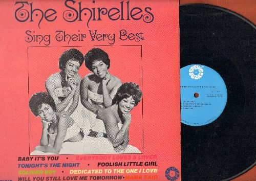 Shirelles - The Shirelles Sing Their Very Best: Soldier Boy, Baby It's You, Foolish Little Girl, Mama Said, Tonight's The Night (vinyl STEREO LP record) - EX8/NM9 - LP Records