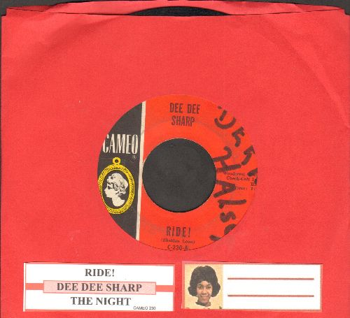 Sharp, Dee Dee - Ride!/The Night  (with juke box label)(wol) - VG7/ - 45 rpm Records