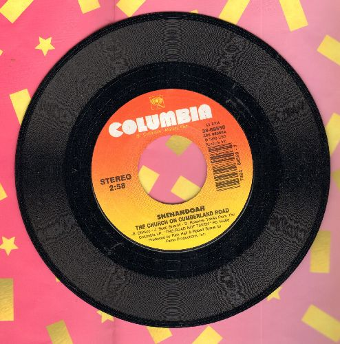 Shenandoah - The Church On Cumberland Road/She Doesn't Cry Anymore - M10/ - 45 rpm Records