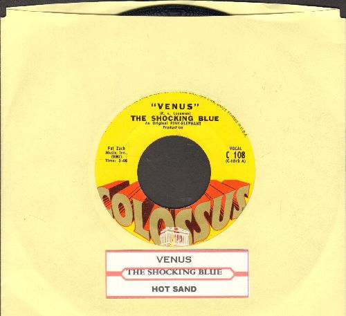 Shocking Blue - Venus/Hot Sand (with juke box label) - EX8/ - 45 rpm Records