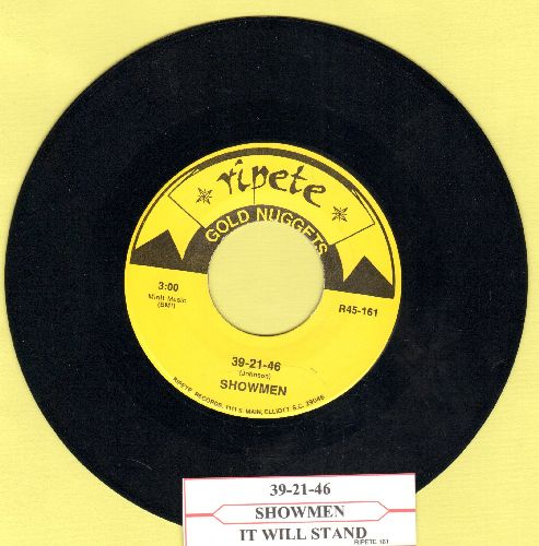 Showmen - 39-21-46/It Will Stand (double-hit reissue with juke box label) - M10/ - 45 rpm Records