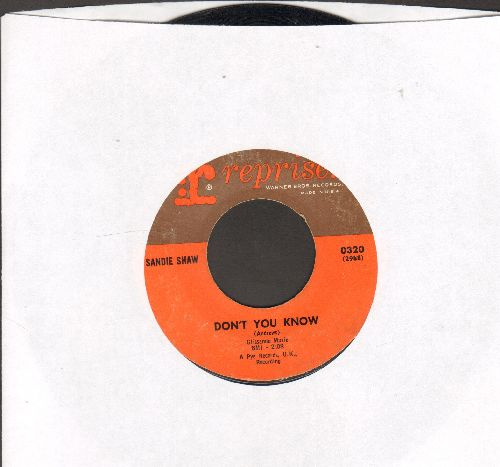 Shaw, Sandie - Don't You Know/(There's) Always Something There To Remind Me (sol) - EX8/ - 45 rpm Records