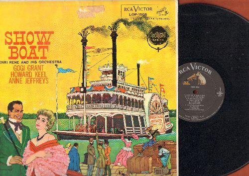 Grant, Gogi, Howard Keel, Ann Jeffreys - Show Boat: Can't Help Lovin' Dat Man, Ol' Man River, Bill, You Are Love (Vinyl MONO LP record) (ssol) - VG7/VG7 - LP Records