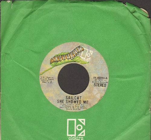 Sailcat - She Showed Me/Sweet Little Jenny (with Elektra company sleeve) - EX8/ - 45 rpm Records